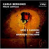 Arie e Canzoni del Barocco Italiano / Bergonzi, Lavilla