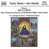 Early Music - La Rue: Easter Mass, etc / Sanvoisin, et al