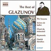 The Best of Alexander Glazunov - Finnish Sketches, etc
