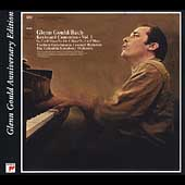Glenn Gould Anniversary Edition -Bach: Piano Concertos Vol 1