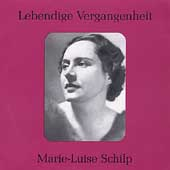 Lebendige Vergangenheit - Marie-Luise Schilp