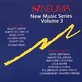 New Music Series Vol 3 - Carter, Sollberger, Escot, DeLio