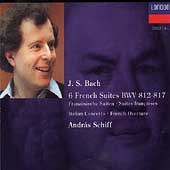 Bach: 6 French Suites BWV 812-817 / Andr&aacute;s Schiff