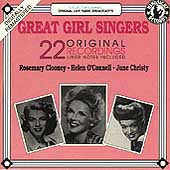 Various Artists: Great Girl Singers: Original Recordings 1952-57