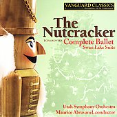 Tchaikovsky: The Nutcracker, etc / Abravanel, Utah SO