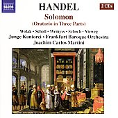 Handel: Solomon / Martini, et al