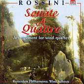 Rossini: Sonate a Quattro - Arrangement for Wind Quartet