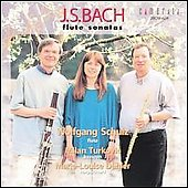 Bach: Flute Sonatas / W. Schulz, M. Turkovic, M.L. Dahler