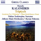 Greek Classics - Kalomiris: Triptych, Symphony no 3, etc