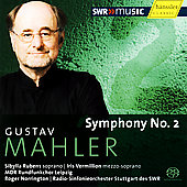 Mahler: Symphony No 2 / Norrington, Rubens, et al