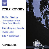 Tchaikovsky:  Ballet Suites - Transcriptions / Aurora Duo