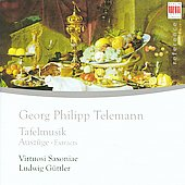 Telemann: Tafelmusik - Excerpts / G&uuml;ttler, Virtuosi Saxoniae