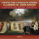 Chopin: The Complete Works / Garrick Ohlsson, et al