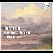 Schubert: Impromptus Op 142, Sonata Op 78 / Andreas Staier