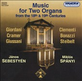 Music for Two Organs from the 18th and 19th Centuries