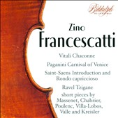 Zino Francescatti plays Favourite Violin Pieces