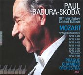 Mozart: 7 Piano Concertos [80th Birthday Limited Edition/ Badura-Skoda]