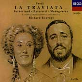 Verdi: La Traviata / Bonynge, Sutherland, Pavarotti