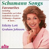 Schumann: Favourite Songs / Felicity Lott