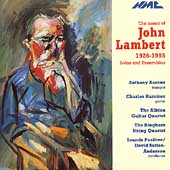 The Music of John Lambert / Aarons, Ramirez, et al