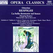 Respighi: La bella dormente nel bosco / Adriano, et al