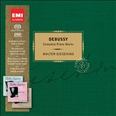 Debussy: Complete Piano Works / Walter Gieseking [Limited Ed.]