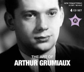 The Art of Arthur Grumiaux: works by Mozart, Schubert, Franck, Mendelssohn / Arthur Grumiaux, violin [4 CDs]