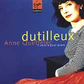 Dutilleux: Complete Piano Works / Anne Queff&eacute;lec