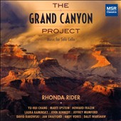 The Grand Canyon Project - Contemporary works for solo cello / Rhonda Rider, cello