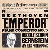 Beethoven: Piano Concerto no 5 / Serkin, Bernstein