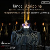 Händel: Agrippina / Ida Falk Winland, Ulrike Schneider, Christopher Ainslie, Jake Arditti, Owen Willetts. FestspielOrchester Gottingen, Cummings