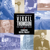 Virgil Thomson (1896-1989): Complete Songs / Sarah Pelletier, soprano; Lynne McMurtry, contralto; William Hite, tenor; Aaron Engebreth, baritone; Alison DÆAmato, piano; Linda Osborn, piano; John McDonald, percussion