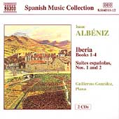 Albeniz: Iberia Books 1-4, etc / Guillermo Gonz&aacute;lez