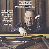Bach, Beethoven, Brahms, Schubert: Piano Works / Paperno