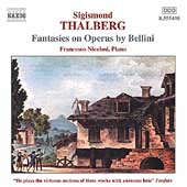 Thalberg: Fantasies on Operas by Bellini / Francesco Nicolsi