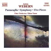 Webern: Passacaglia, Symphony, etc / Yuasa, Ulster Orchestra