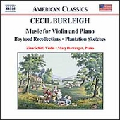 American Classics - Burleigh: Music for Violin and Piano