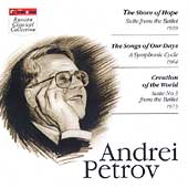 Petrov: Shore of Hope Suite, etc / Serov, A. Jansons, et al