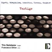 Vertige - Music for Bayan / Solotarev Trio, Dillon