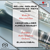 Works for Oboe and Flute / Holliger, Nicolet