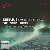 Sibelius: Symphonies no 3 & 7 / Colin Davis, London SO