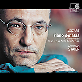 Mozart: Piano Sonatas K 330, 331 & 332 / Andreas Staier