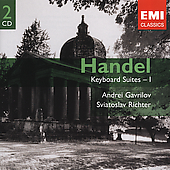 Gemini - Handel: Keyboard Suites Vol I / Gavrilov, Richter