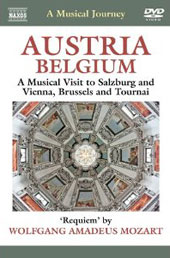 A Musical Journey - Austria & Belgium: A Musical visit to Salzburg, Vienna, Brussels and Tournai [DVD]