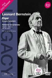 Elgar: 'Enigma Variations, Op. 36; Bonus: Rehearsal of the Elgar & interview with Bernstein / BBC SO (rec. April 1982) [DVD]