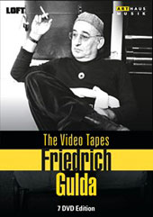 Friedrich Gulda - 'The Video Tapes' Concerts from the 1980s & 90s / Chick Corea, piano; The Paradise Trio; Heinrich Schiff, cello; Herbie Hancock [7 DVDs]