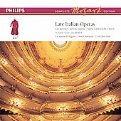Complete Mozart Edition 15 - Late Italian Operas