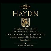 Haydn: Symphonies 93-104 (Vol 8) / Fischer, Haydn Orchestra