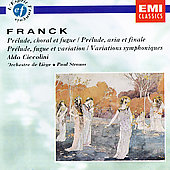Franck: Prelude, Aria & Fugue, Symphonic Variations, Etc.