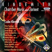 Hindemith: Chamber Music with Clarinet / Klenyán, Nagy
